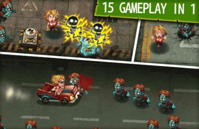 Игра Girl vs. Zombies для iPhone