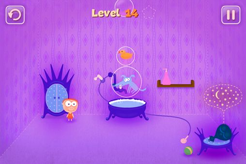 Screenshots of the Give my ball back game for iPhone, iPad or iPod.