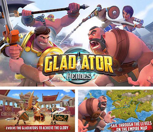 In addition to the game Cut the rope 2: Om-Nom's unexpected adventure for iPhone, iPad or iPod, you can also download Gladiator heroes for free.