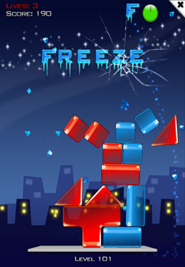 Capturas de pantalla del juego Glass Tower 3 para iPhone, iPad o iPod.