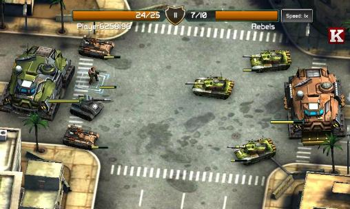 Screenshots of the Global assault game for iPhone, iPad or iPod.