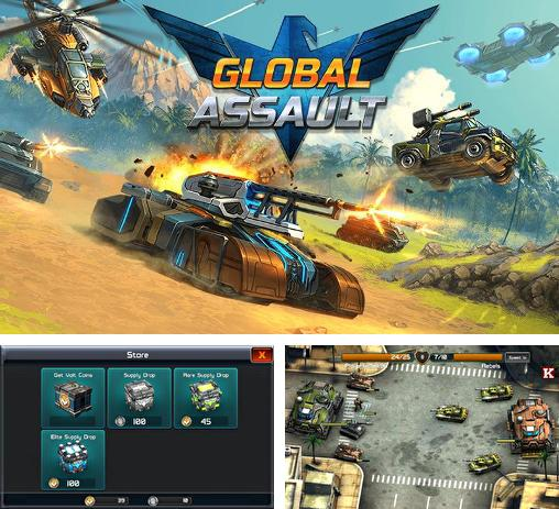 In addition to the game Help Beetle Home for iPhone, iPad or iPod, you can also download Global assault for free.