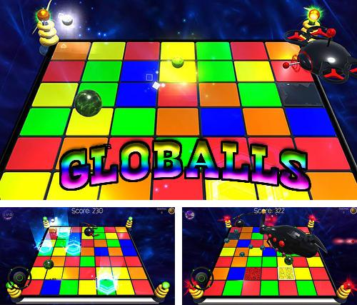 In addition to the game Castle storm: Free to siege for iPhone, iPad or iPod, you can also download Globalls for free.