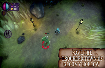 Download Gloomy Hollow iPhone free game.