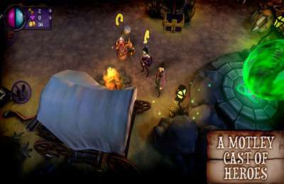 Screenshots of the Gloomy Hollow game for iPhone, iPad or iPod.