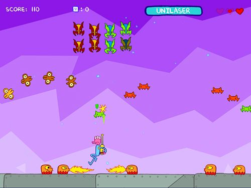 Kostenloser Download von Glorkian warrior: Trials of glork für iPhone, iPad und iPod.