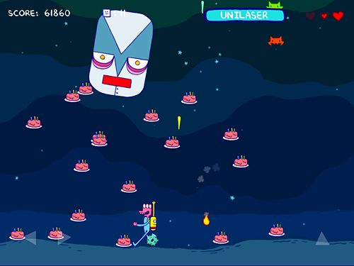 Screenshots vom Spiel Glorkian warrior: Trials of glork für iPhone, iPad oder iPod.
