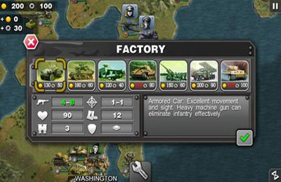 Descarga gratuita de Glory of Generals para iPhone, iPad y iPod.