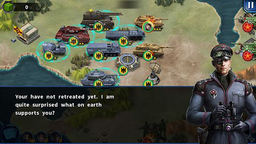 Capturas de pantalla del juego Glory of generals 2 para iPhone, iPad o iPod.