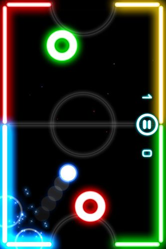 Free Glow hockey 2 download for iPhone, iPad and iPod.