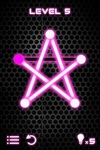 Free Glow puzzle download for iPhone, iPad and iPod.