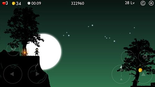 Capturas de pantalla del juego Gnomo Ninja para iPhone, iPad o iPod.
