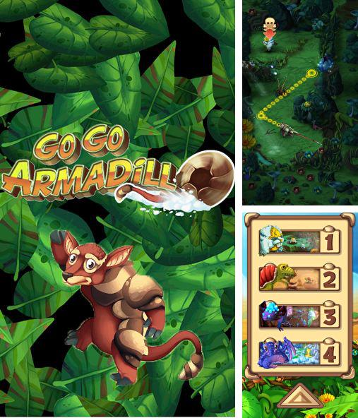 In addition to the game Arrow of Time for iPhone, iPad or iPod, you can also download Go go Armadillo! for free.