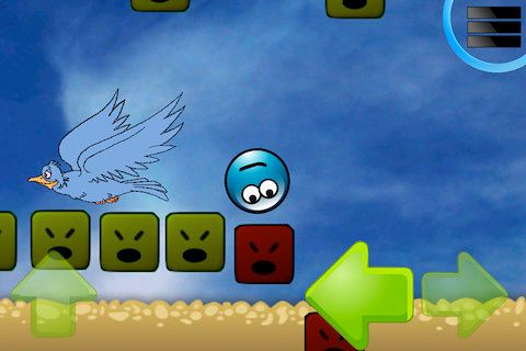Screenshots do jogo Go go ball para iPhone, iPad ou iPod.