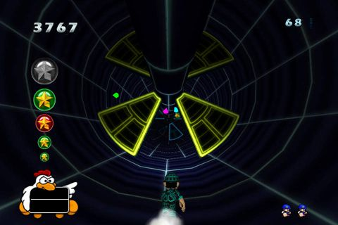 Capturas de pantalla del juego Go go tunnel runner para iPhone, iPad o iPod.