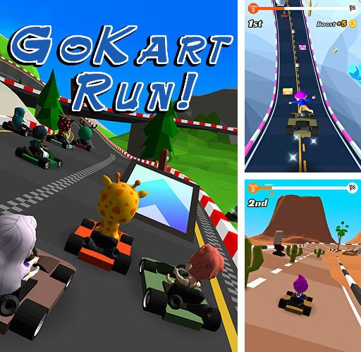 In addition to the game Raby for iPhone, iPad or iPod, you can also download Go kart run for free.