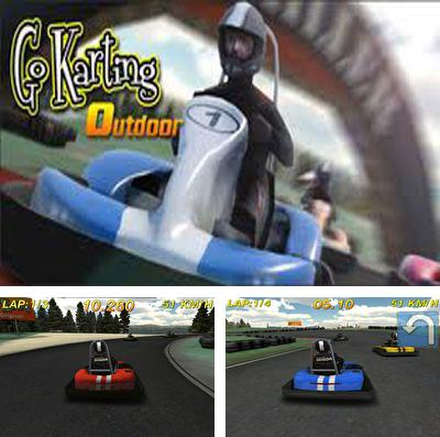 In addition to the game Star skater for iPhone, iPad or iPod, you can also download Go Karting Outdoor for free.