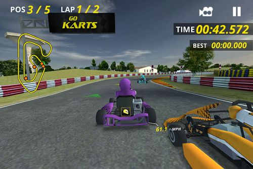 Descarga gratuita de Go Karts para iPhone, iPad y iPod.
