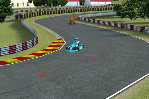 Screenshots do jogo Go Karts para iPhone, iPad ou iPod.