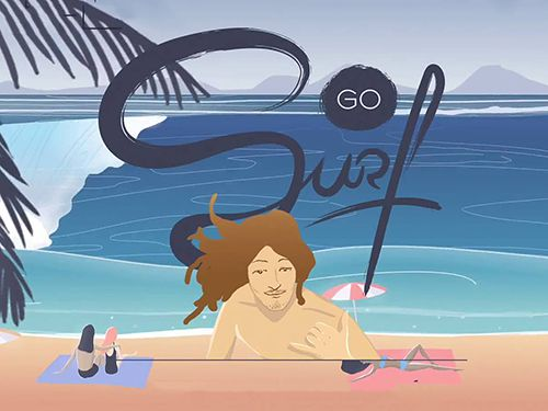 Go surf: The endless wave