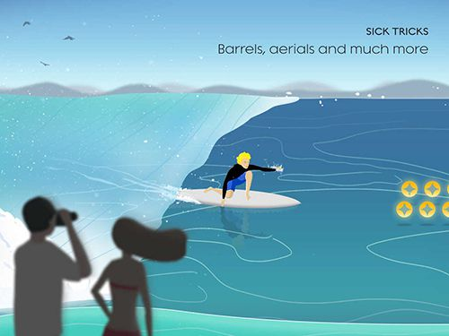 Téléchargement gratuit de Go surf: The endless wave pour iPhone, iPad et iPod.