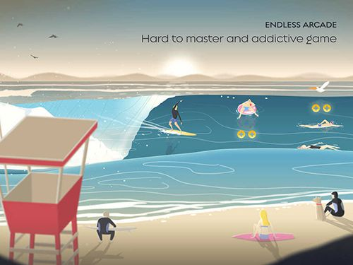 Écrans du jeu Go surf: The endless wave pour iPhone, iPad ou iPod.