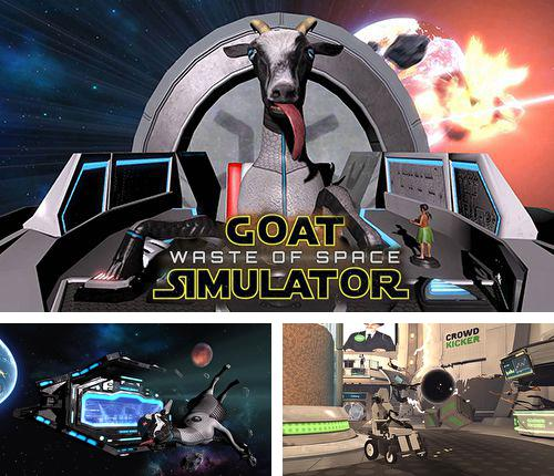 除了 iPhone、iPad 或 iPod 游戏,您还可以免费下载Goat simulator: Waste of space, 。
