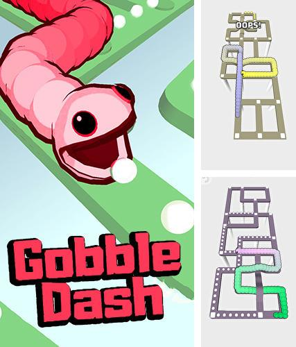 In addition to the game Buff knight: Advanced for iPhone, iPad or iPod, you can also download Gobble dash for free.