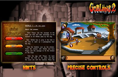 Download Gobliins 2 iPhone free game.