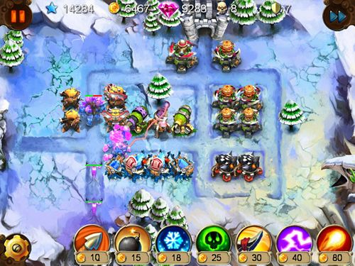 Скачати Goblin defenders: Steel and wood на iPhone безкоштовно.