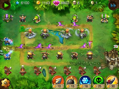 Скачати гру Goblin defenders: Steel and wood для iPad.