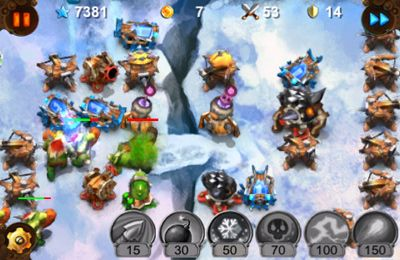 Capturas de pantalla del juego Goblin Gun HD para iPhone, iPad o iPod.