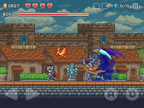 Screenshots of the Goblin sword game for iPhone, iPad or iPod.