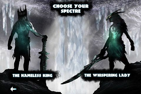 Screenshots of the God of blades game for iPhone, iPad or iPod.