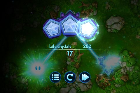 Écrans du jeu God of light pour iPhone, iPad ou iPod.
