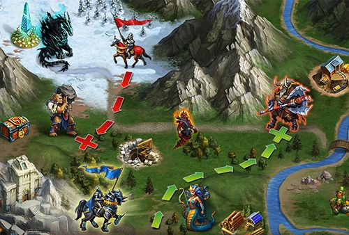 Download Gods and glory iPhone free game.