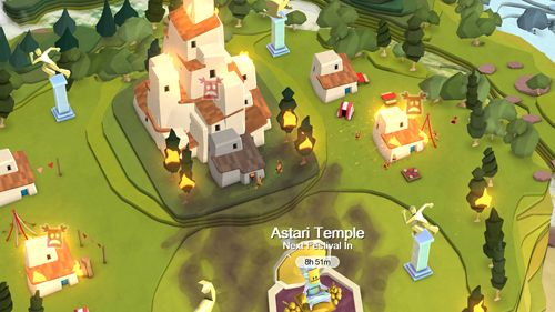 Free Godus download for iPhone, iPad and iPod.