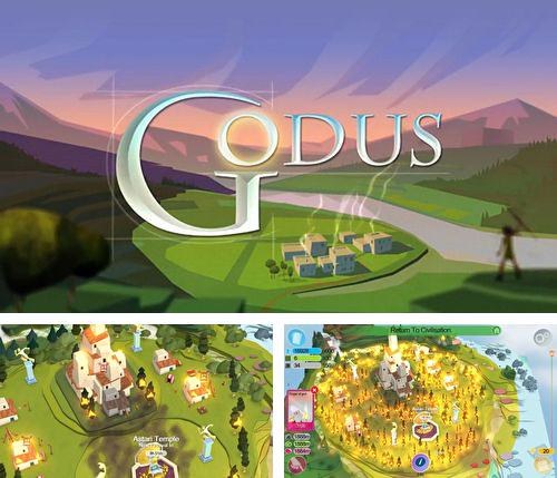 In addition to the game Kingdoms of heckfire for iPhone, iPad or iPod, you can also download Godus for free.