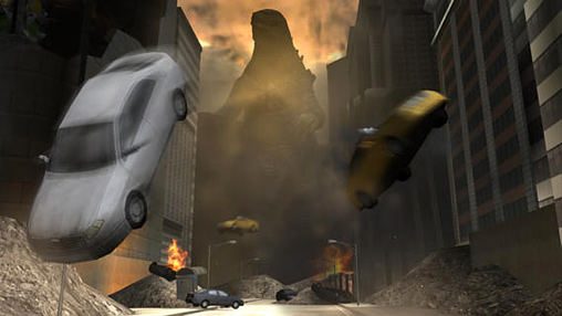 Capturas de pantalla del juego Godzilla: Strike zone para iPhone, iPad o iPod.