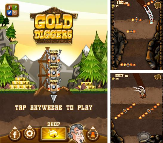 In addition to the game Infinite tanks for iPhone, iPad or iPod, you can also download Gold Diggers for free.