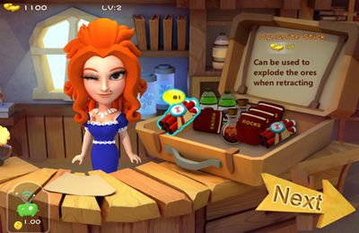 Capturas de pantalla del juego Gold Miner – OL Joy para iPhone, iPad o iPod.