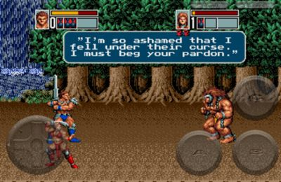 Download Golden Axe 3 iPhone free game.