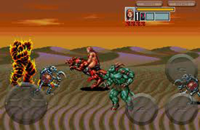 Capturas de pantalla del juego Golden Axe 3 para iPhone, iPad o iPod.