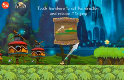 Capturas de pantalla del juego Golden Ninja Pro para iPhone, iPad o iPod.