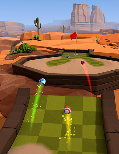 Free Golf battle download for iPhone, iPad and iPod.