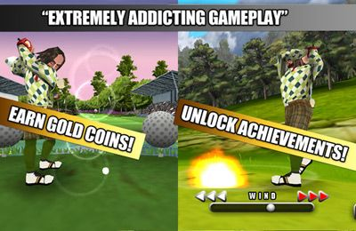 iPhone、iPad 或 iPod 版Golf Battle 3D游戏截图。