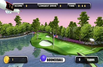 Screenshots of the Golf Battle 3D game for iPhone, iPad or iPod.