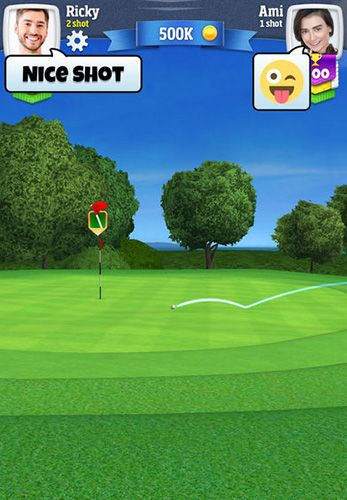 Download Golf clash iPhone free game.