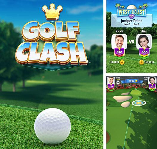 In addition to the game Zombie slasher for iPhone, iPad or iPod, you can also download Golf clash for free.