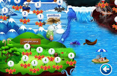 Гра Golf KingDoms для iPhone